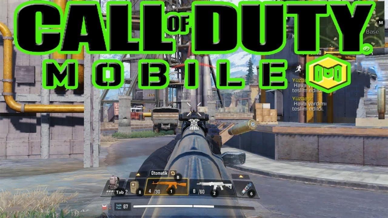 Senjata terbaik untuk pemula call of duty mobile