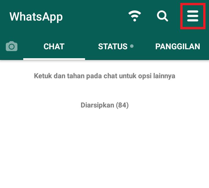 melihat status whatsapp yang dihapus