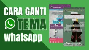 Cara mengganti tema whatsapp Dengan Mudah dan cepat