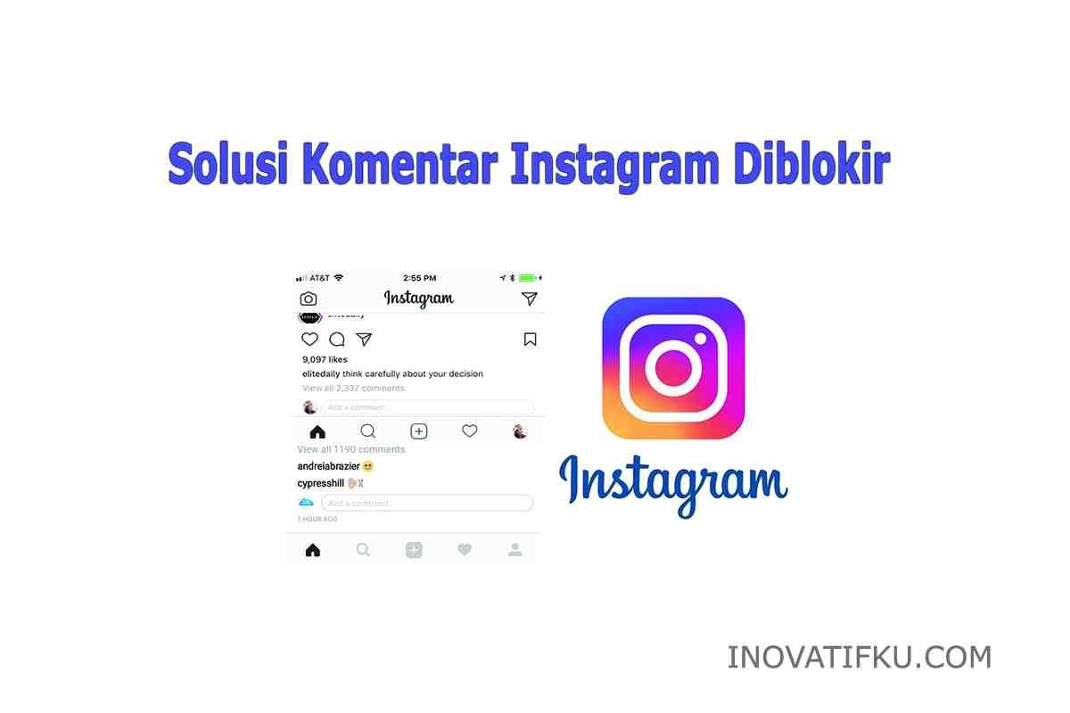 komentar instagram diblokir