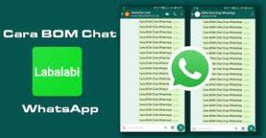 cara bom chat whatsapp