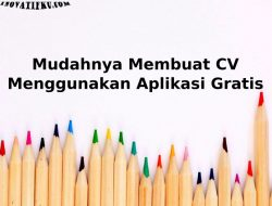 aplikasi membuat curriculum vitae