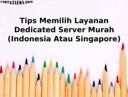 dedicated server murah