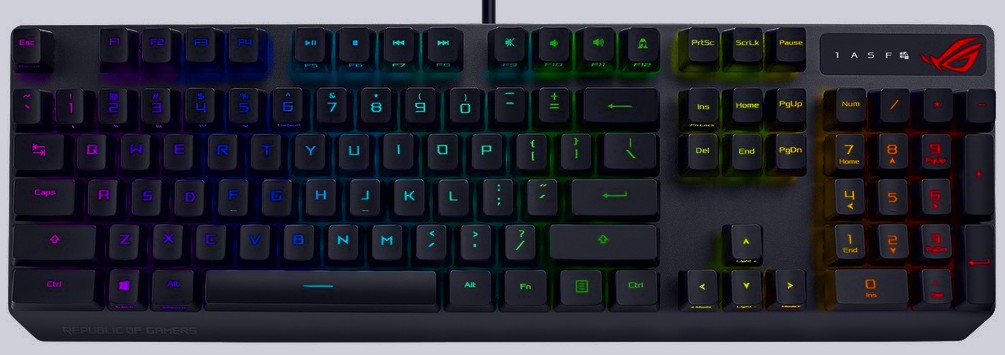 Best Gaming Keyboard Asus ROG Strix Scope